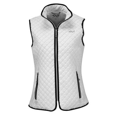 Rohnisch Quilted Gilet with Windproof Lining in White