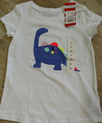 Cat and Jack t-shirt. Toddler girl. size 4T. NWT