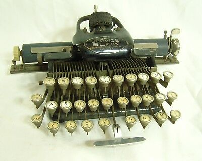 Vintage The Service Blick Typewriter with box
