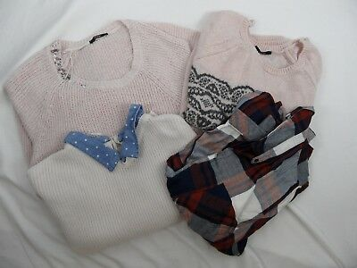Bundle Of 4 Ladies Jumpers/shirt, Size 20