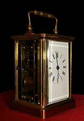 Antique carriage clock Boxell