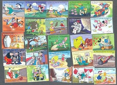 Disney 100 all different stamp collection