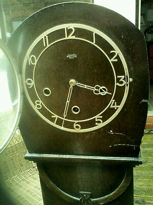 VINTAGE SMITH's  GRANDAUGHTER  CHIMING CLOCK