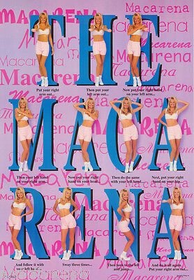 Lot Of 2 Posters : Music : The Macarena  - Hot Model  - Free Ship #3137  Lw5 U
