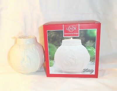 Lenox Nativity Ornamental Glow Candle Holder Tea Light Votive NIB