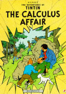 The Adventures of TinTin: THE CALCULUS AFFAIR-ExLibrary