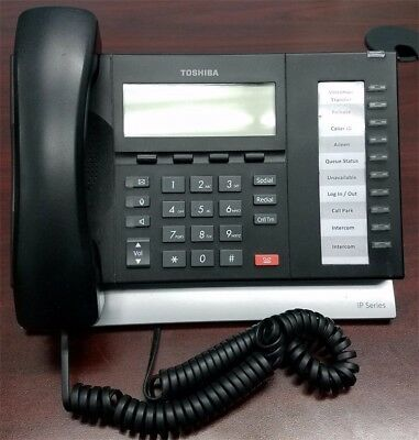 Toshiba IP5022-SD 10 Button Display IP Speakerphone