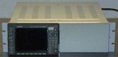 Leader LV 5700A LV5700A Waveform Vector Multi SDI Monitor with Option 73A