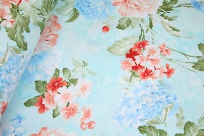 """Favourite Clothing Floral 100/% Cotton Fabric sold by the meter 63/""""width 1610028"""