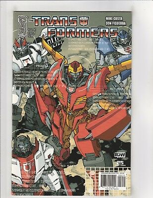 Transformers (2009) #2 NM- 9.2 Cover A IDW Comics
