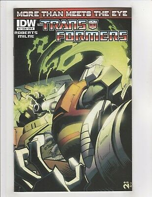 Transformers More Than Meets The Eye #3 NM- 9.2 Cover B IDW Comics