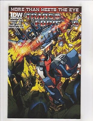 Transformers More Than Meets The Eye #18 NM- 9.2 Cover A IDW Comics