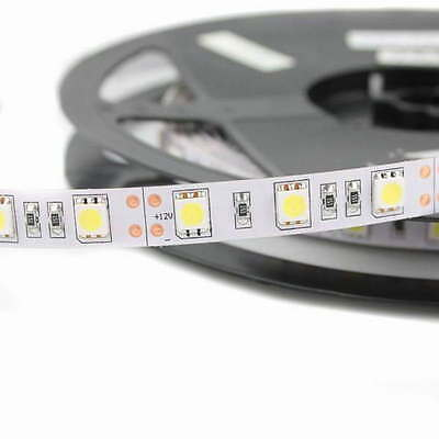 Lot de 5 Rubans de Led 5050 - 5m - Blanc Froid - 300 Leds (60 Leds / m)