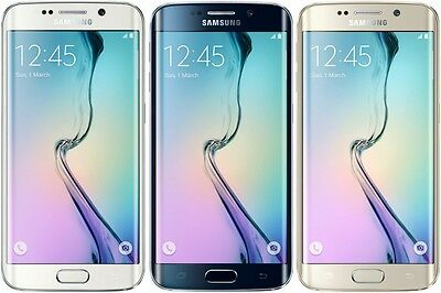 Samsung Galaxy S6 Edge 32/64GB G925P Unlocked GSM AT&T TMobile 4G LTE Smartphone