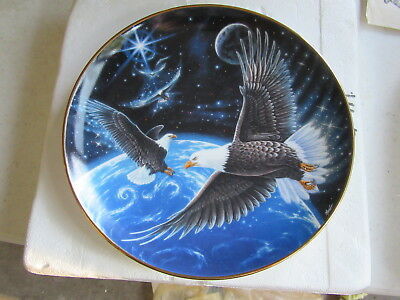 Royal Doulton Franklin Mint Heirloom Recommendation Protector of the Earth Plate