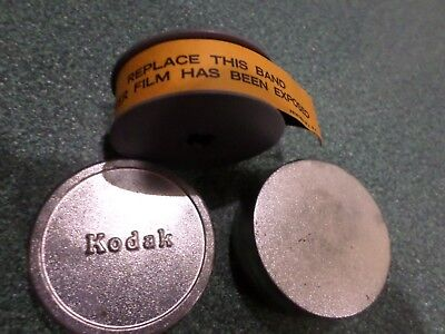 Vintage 8mm Kodak Film in Metal Tin Container Canister Unused