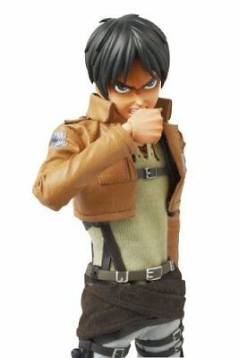 MEDICOM TOY RAH No.668 Attack on Titan Eren Yeager Action Figure NEW from Japan