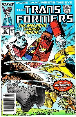 The Transformers Set #28/31 (May/Aug 1987, Marvel)VF-(7.5) & FN/VF(7.0)