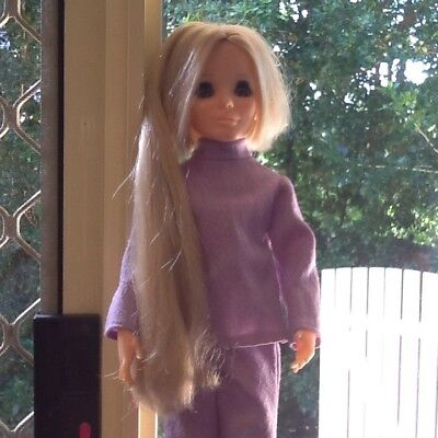 Kerry - Beautiful Crissy's friend - Vintage Ideal Doll 1971? Very Rare Exc Cond