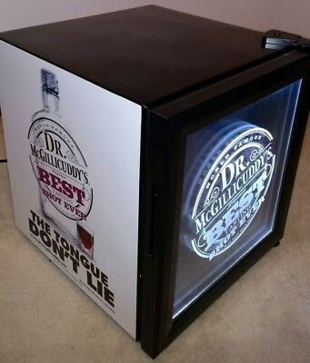 Brand New Dr. McGillicuddys LED Counter Top Freezer Fridge Cooler