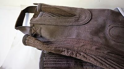 Girls Riding Gaiters Suede Leather Half Chaps Gaiters Equestrian Horse Riding