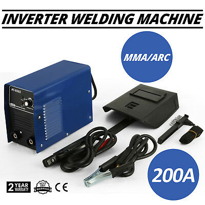 NEW Welder Inverter 200 Amp Welding Machine TIG ARC MMA DC AT-9302 Portable