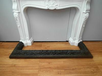 ANTIQUE Vintage CARVED Timber FIRE Place FENDER Hearth COPPER QZZQ Adelaide