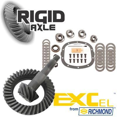 """GM 7.5"""" 10 Bolt Richmond Excel 3.73 Ring and Pinion Gear w/ Master Bearing Kit"""