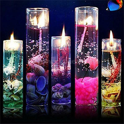 Aromatherapy Smokeless Candles Ocean Shell Valentines Scented Jelly Candle x 1