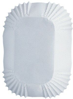 Wilton 489807 Petite Loaf Baking Cups -White 50-Pkg. Shipping Included