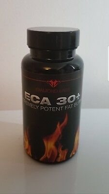 Genuine DIAMOND LABS 30+ ECA FAT BURNERS - POTENT COMPLEX -FAT LOSS -T5