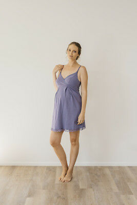 NEW nursing nightie in evening sky Maternity