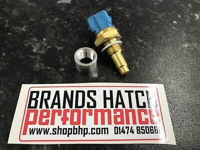 Water Temperature Sensor M12 Weld on Alloy Boss + 0280130026 use with Link ECU