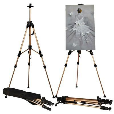 Adjustable Artist Art Painting Folding Easel Stand Tripod Display WhiteBoard Bag