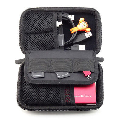 Portable Waterproof Travel Storage Bag USB Charger Case Data Cable Earphone Case