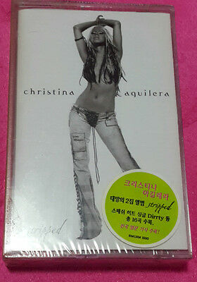 Christina Aguilera Korean Tape New & Factory Sealed