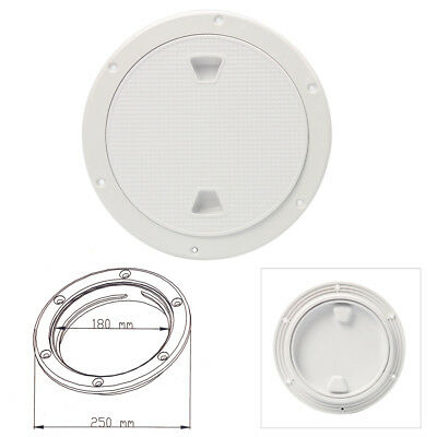 "Amarine-made 8"" Boat Round Non Slip Inspection Hatch with Detachable Cover 250mm"