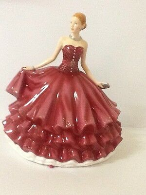 """Royal Doulton """"EVENING RENDEZVOUS"""" Large ,New And Stunning"""