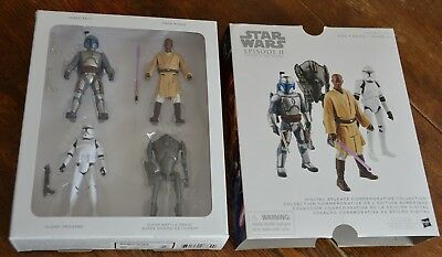 Star Wars Episode 2 Attack of the Clones Action Figure Set