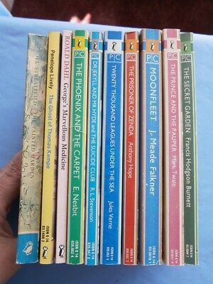 JOB LOT 10 some VINTAGE some NEWER PUFFIN BOOKS