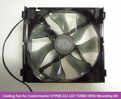 120mm Cooling Fan With Mounting Kit for Coolermaster Hyper 212 LED TURBO Cooler