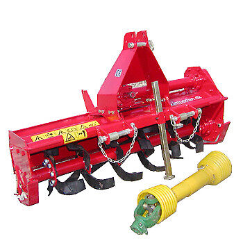 Tiller Rotary Hoe Cultivator 1050mm 3 Point Linkage for Tractors up to 25hp