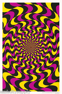 FREE SHIPPING PSYCHEDELIC SLEEPING SUN POSTER #FL3317   RC45 H