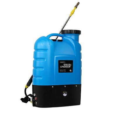 16L Garden Weed Sprayer Backpack Rechargable Chemical Spray Farm Electric