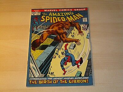 Amazing Spider-Man #110 Key Issue 1St Appearance Gibbon Fine-  Nice Looking Book