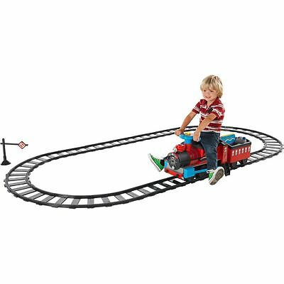Chad Valley Powered Ride On Train and Track Set -From the Argos Shop on ebay