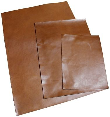 Full Grain Leathercraft Vegetable Tanned A4 A3 A2 Oil Leather Brown 3oz 1.2mm