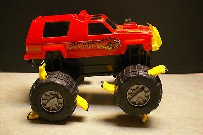 Original 1991 Galoob 'power Machines' 'the Animal' Battery Operated 'angry Atv'