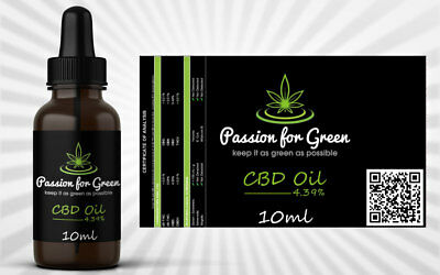 passion for green cbd olie 4,39% 10ml