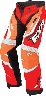 FXR Mens Red/Black/OrangeCold Cross Race Ready Uninsulated Snowmobile Pants